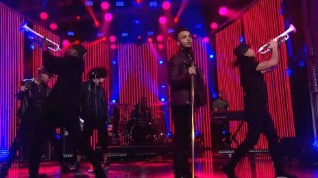 JLS' Aston Merrygold Hits 'The Late Late Show' For Debut US Solo Performance