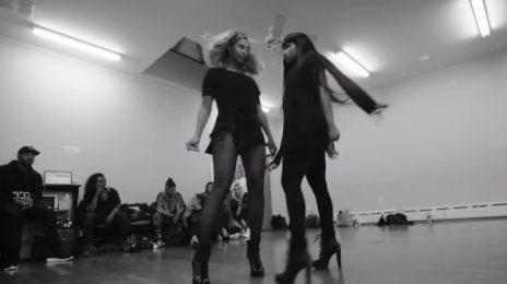 Behind The Scenes: Beyonce & Nicki Minaj's TIDAL Performance