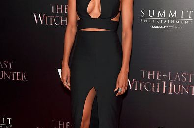 Hot Shots:  Ciara Drops Jaws At 'Last Witch Hunter' Premiere