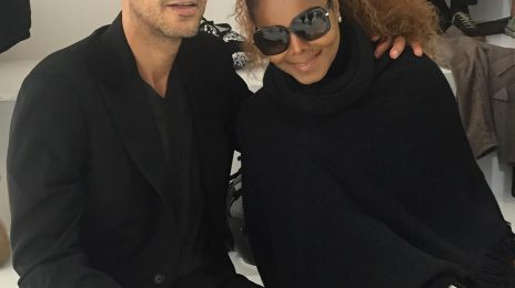Hot Shots: Janet Jackson & Husband Heat Up Hermes Show In Paris