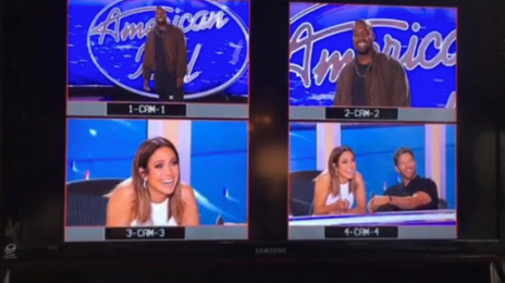 Hot Shot: Kanye West Auditions For 'American Idol'