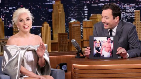 Lady Gaga Visits 'Fallon' / Spills On 'American Horror Story: Hotel'