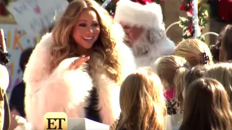 First Look: Mariah Carey's Holiday Movie 'A Christmas Melody'