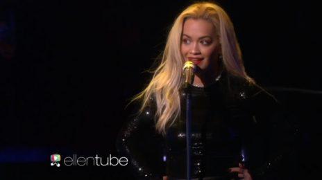 Watch: Rita Ora Electrifies 'Ellen' With 'Body On Me' [Performance]