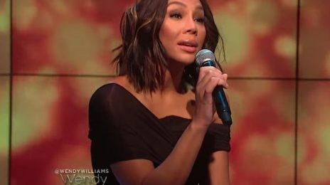 Did You Miss It? Tamar Braxton Belts 'Circles' On 'Wendy'