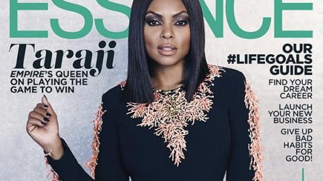 Taraji P. Henson Heats Up ESSENCE Magazine's November Issue