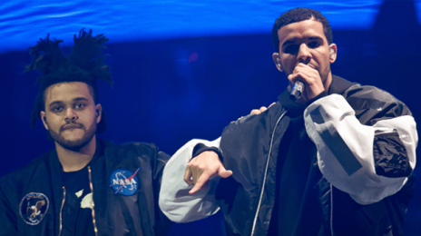 Chart Check:  The Weeknd Continues To Block Drake From #1 On Hot 100