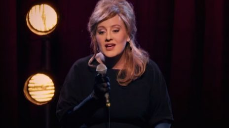 Hilarious: Adele Surprises Fans...By Posing As An Adele Impersonator