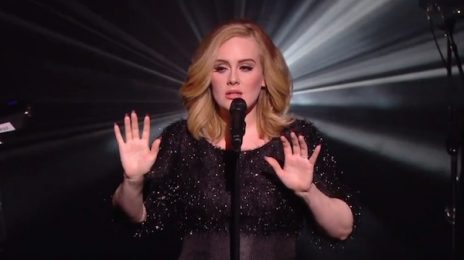 Watch: Adele Performs 'Hello' Live At NRJ Awards