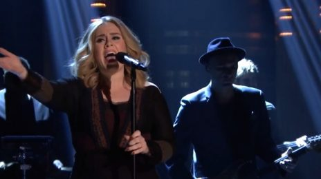 Watch: Adele Wows With 'Water Under The Bridge' On 'Fallon'