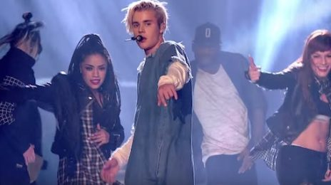 Watch: Justin Bieber Blazes With 'What Do You Mean?' At BBC Radio 1 Teen Awards 2015
