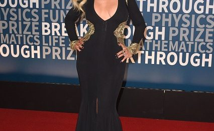 Christina Aguilera Wows With Killer Curves At Breakthrough Prize Ceremony