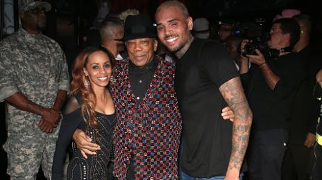 Hot Shots: Chris Brown & Quincy Jones Celebrate Michael Jackson's 'Thriller'