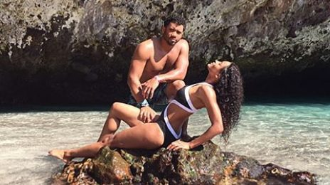 Relationship Goals: Ciara & Russell Wilson Beam On The Beach