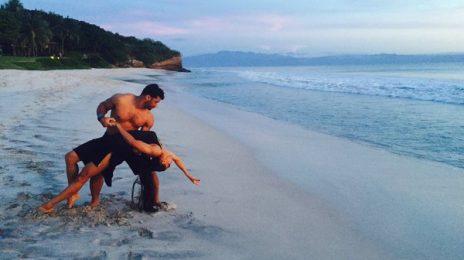 Hot Shots: Ciara & Russell Wilson Dance On The Beach