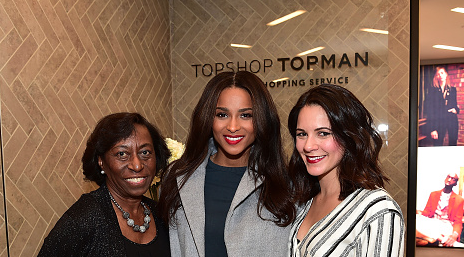 Hot Shots: Ciara Returns To Atlanta For Topshop Meet & Greet