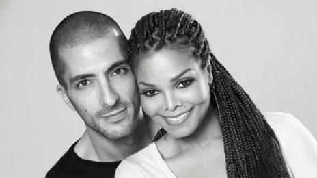 Hot Shot: Janet Jackson & Husband Wissam Al Mana All Smiles At 'Unbreakable Tour'