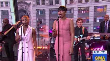 Jaw-Dropping: Jennifer Hudson & Cynthia Erivo Wow With 'The Color Purple' On 'GMA'