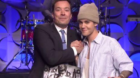 Justin Bieber Performs 'Sorry' On 'Fallon' / 'Purpose' Album Set For 470,000 Debut