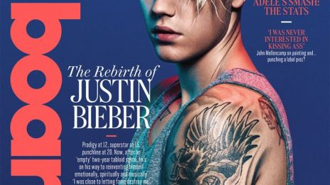 Hot Shot: Justin Bieber Goes Blue For Billboard