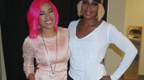 Keyshia Cole Meets Mary J. Blige / Quashes Rivalry Rumors