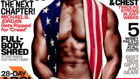 Michael B. Jordan Covers 'Men's Fitness'