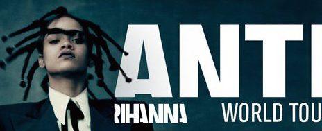 Rihanna Announces The 'ANTI Tour' [With The Weeknd & Big Sean]
