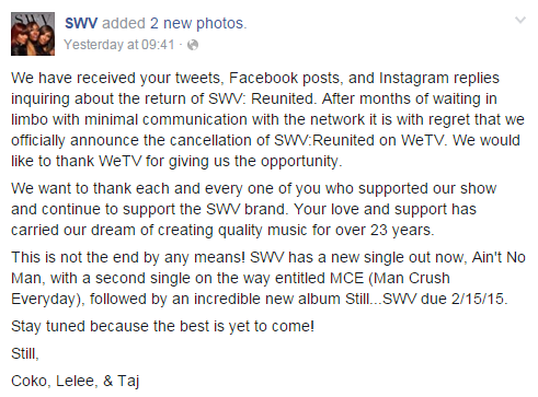 swv cancellation announcement
