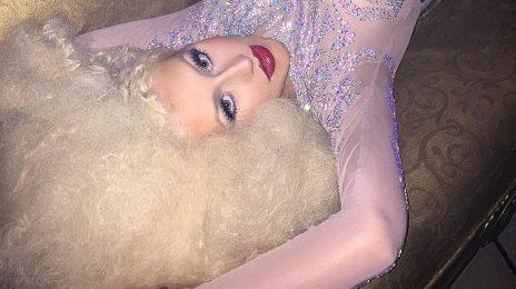 Christina Aguilera Glows In New LaChapelle Shoot [Sneak Peek]