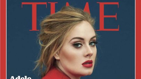Lady In Red: Adele Covers TIME Magazine