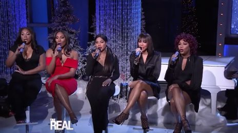 The Braxtons Belt 'Mary Did You Know' On 'The Real'