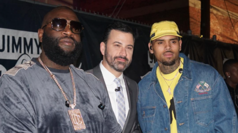 Did You Miss It? Chris Brown & Rick Ross Perform 'Sorry' On 'Kimmel'