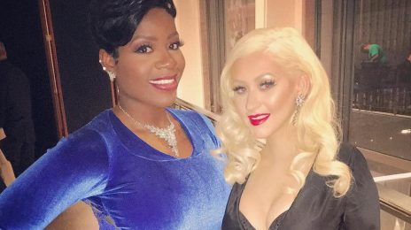 Hot Shot: Fantasia & Christina Aguilera Pose It Up