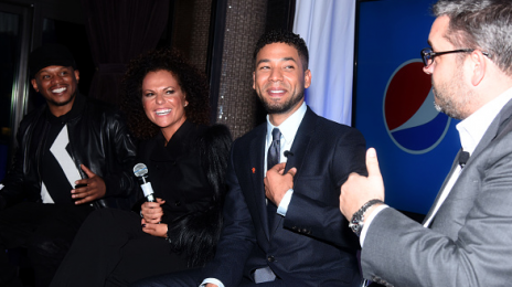Hot Shots: Kelly Rowland & Jussie Smollett Attend Pepsi's 'Empire' Viewing Party