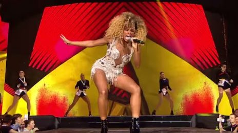 Watch: Fleur East Performs 'Sax' At Capital FM Jingle Bell Ball