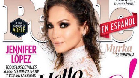 Jennifer Lopez Covers PEOPLE Magazine Ahead Of Las Vegas Residency