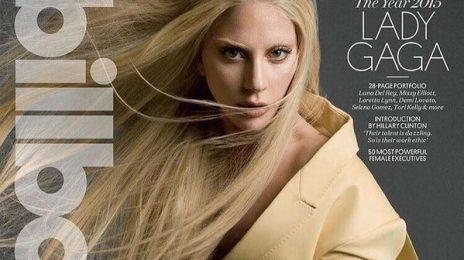 Lady Gaga Slays Billboard Magazine