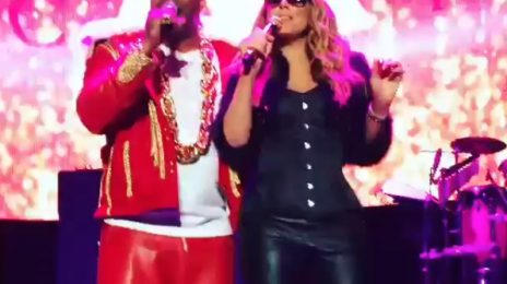 Mariah Carey & Busta Rhymes Perform 'I Know What You Want' At HOT 97 Concert
