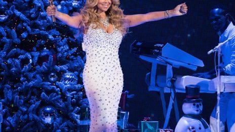 Mariah Carey Serves Festive Fierce At New York Christmas Concert