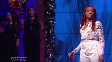 Watch: Monica Performs Medley On 'Wendy'