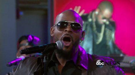 Watch:  R. Kelly Brings 'Bump N' Grind' & 'Backyard Party' to 'GMA'