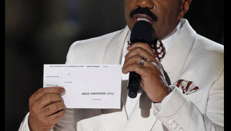 Steve Harvey Issues Apology After 'Miss Universe' Flub