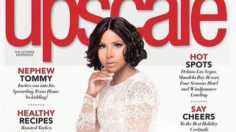 Toni Braxton Stuns For Upscale Magazine
