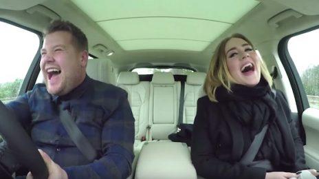 Hilarious: Adele Soars On 'Carpool Karaoke' With James Corden