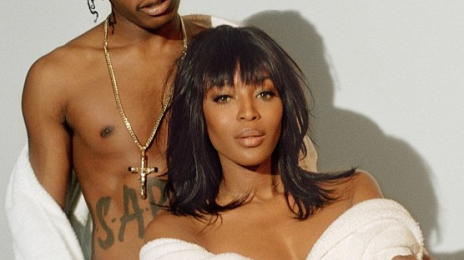 Watch: Naomi Campbell & A$AP Rocky Unite For 'POP' Project