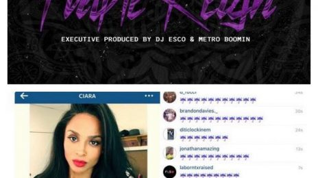 Future Releases 'Purple Reign' Mixtape / Fans Swamp Ciara On Social Media