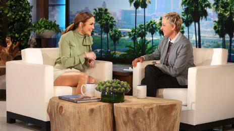 Did You Miss It?  Jennifer Lopez Dishes On Vegas Residency With 'Ellen'
