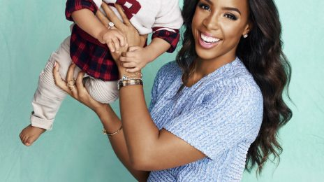 Kelly Rowland & Baby Titan Pose For Parents Magazine