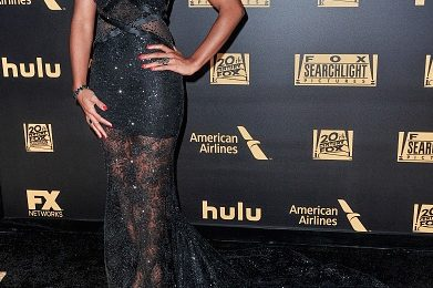 Hot Shots: Kelly Rowland Glows At FOX's Golden Globes After-Party