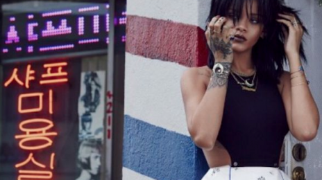 Hard Worker: Rihanna Hits Late Night Studio Session For 'ANTI'